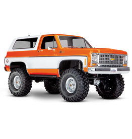 Traxxas 82076-4 - TRX-4 1/10 Trail Crawler Truck w/'79 Chevrolet K5 Blazer Body (Orange)