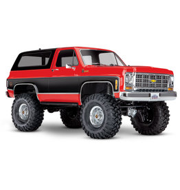 Traxxas 1/10 TRX-4 Trail Crawler Truck w/'79 Chevrolet K5 Blazer Body - Red