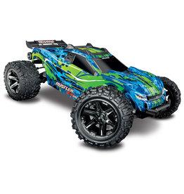 Traxxas 1/10 Rustler 4X4 VXL Brushless RTR 4WD Stadium Truck - Green