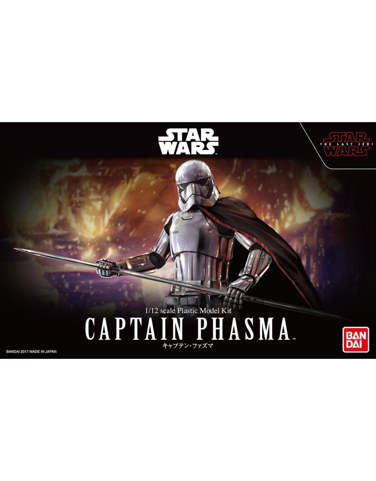 Japan The Last Jedi Bandai 1//12 Plastic Model Kit Star Wars Captain Phasma