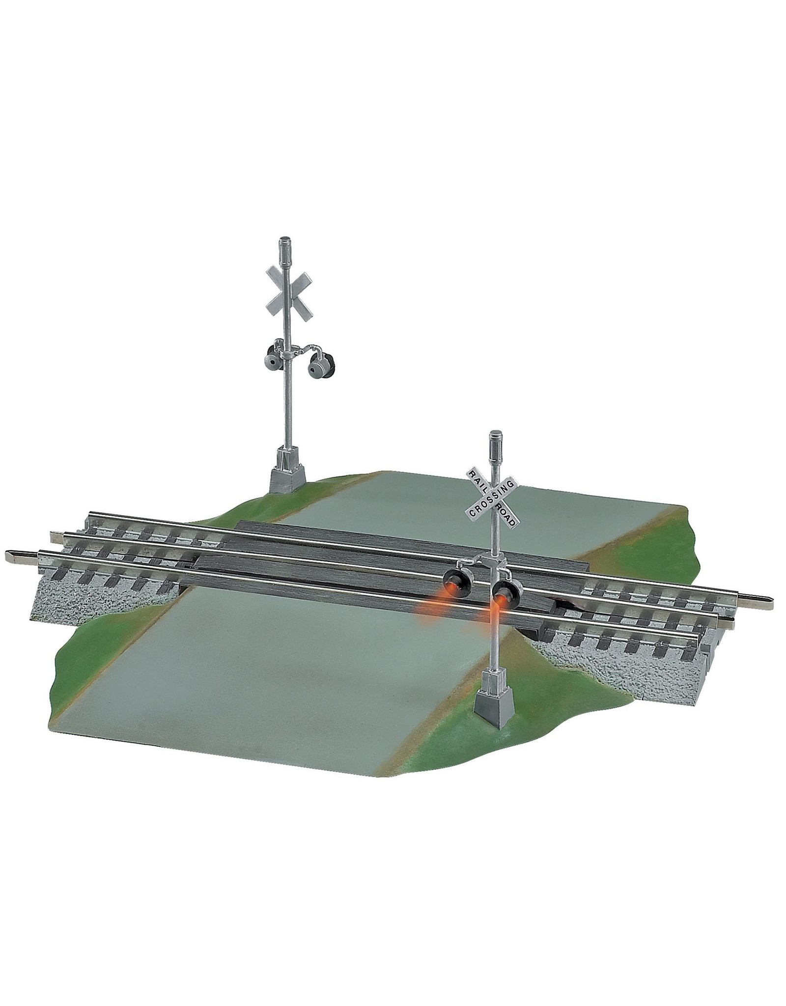 Lionel FasTrack Grade Crossing with Flashers