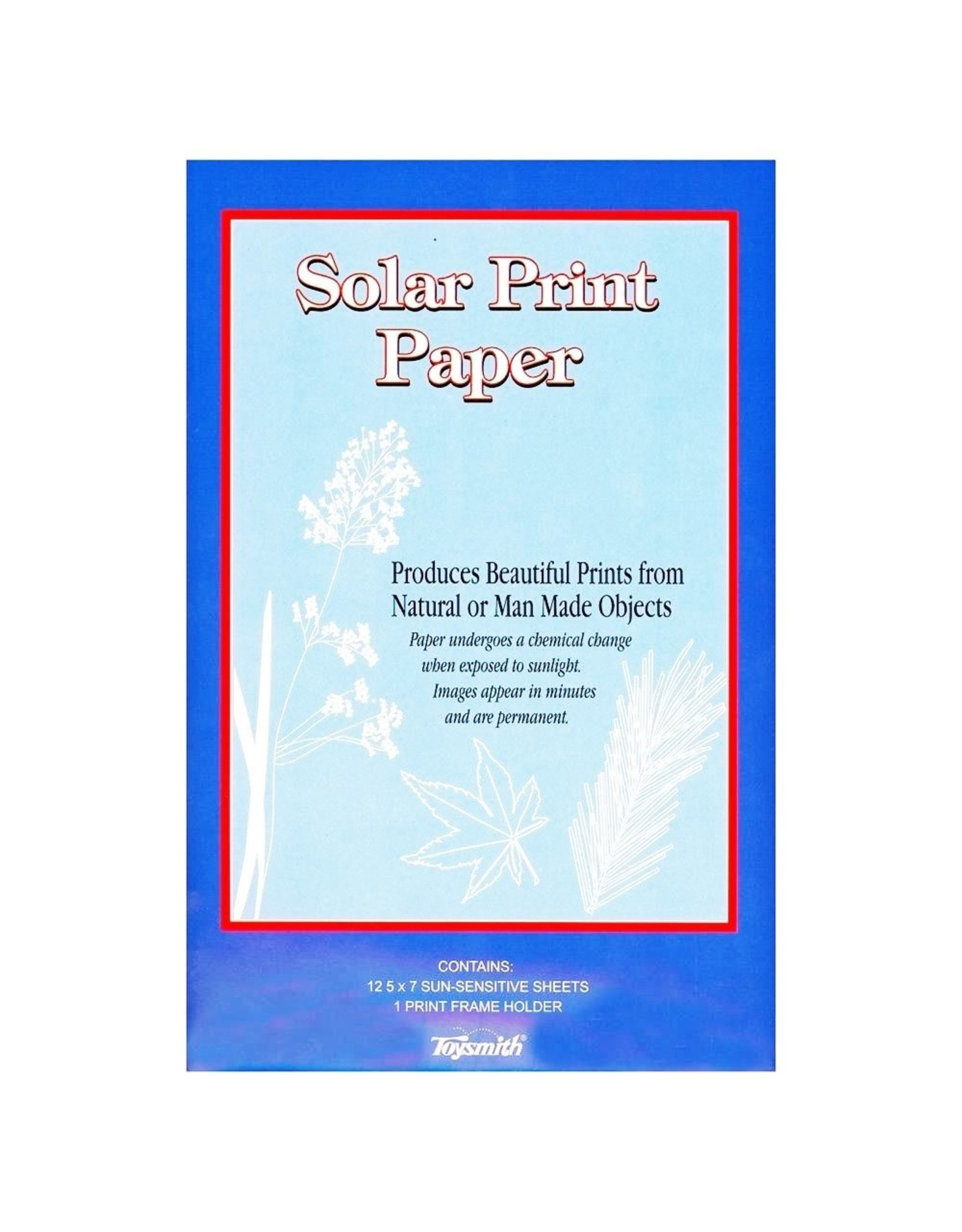 Toysmith Solar Print Paper 12PG