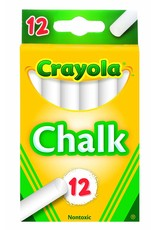 Crayola White Chalk 12 Count
