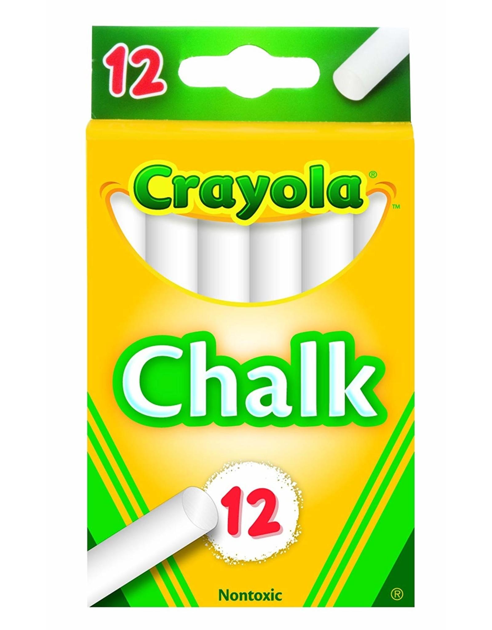 Crayola White Chalk 12 Count