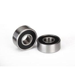 Traxxas 5104A - Ball Bearing, 4x10x4mm, Black Rubber Sealed (2)