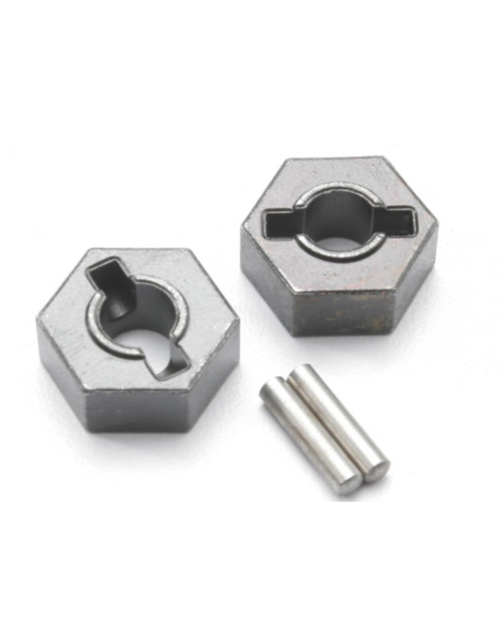 Traxxas 4954R - Steel 14mm Hex Wheel Hubs  with 2.5x14mm Axle Pins (2)