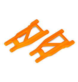 Traxxas 3655T - Rustler 4X4 HD Cold Weather Suspension Arm Set (Orange)