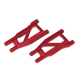 Traxxas 3655L - Rustler 4X4 HD Cold Weather Suspension Arm Set (Red)