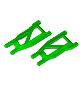 Traxxas 3655G - Rustler 4X4 HD Cold Weather Suspension Arm Set (Green)