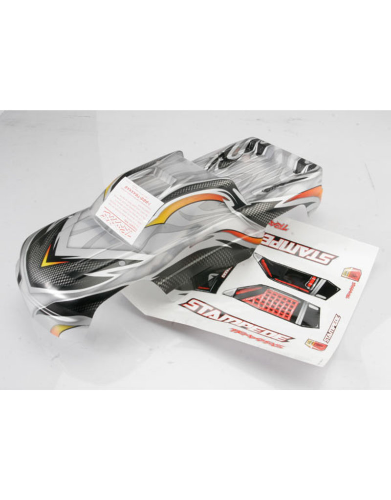 Traxxas 3617X - Prographix Stampede Body w/Painted Decals (Clear)