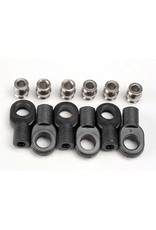 Traxxas 2742X - Short Rod Ends With Hollow Balls (6)