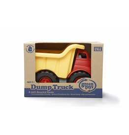Green Toys Dump Truck in Yellow and Red - BPA Free, Phthalates Free Play Toy