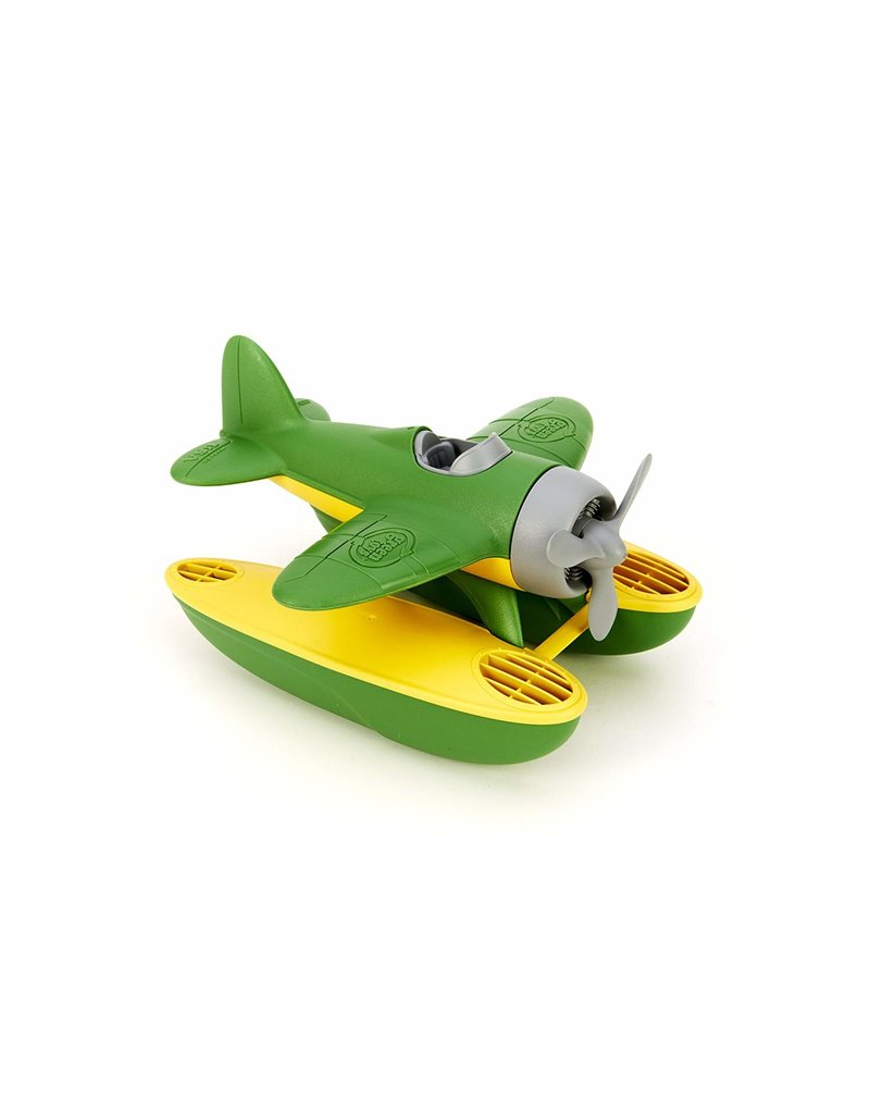 Green Toys Seaplane in Green Color - BPA Free, Phthalate Free Play Toy