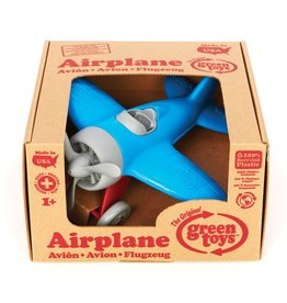 Green Toys Airplane - BPA Free, Phthalates Free Play Toy