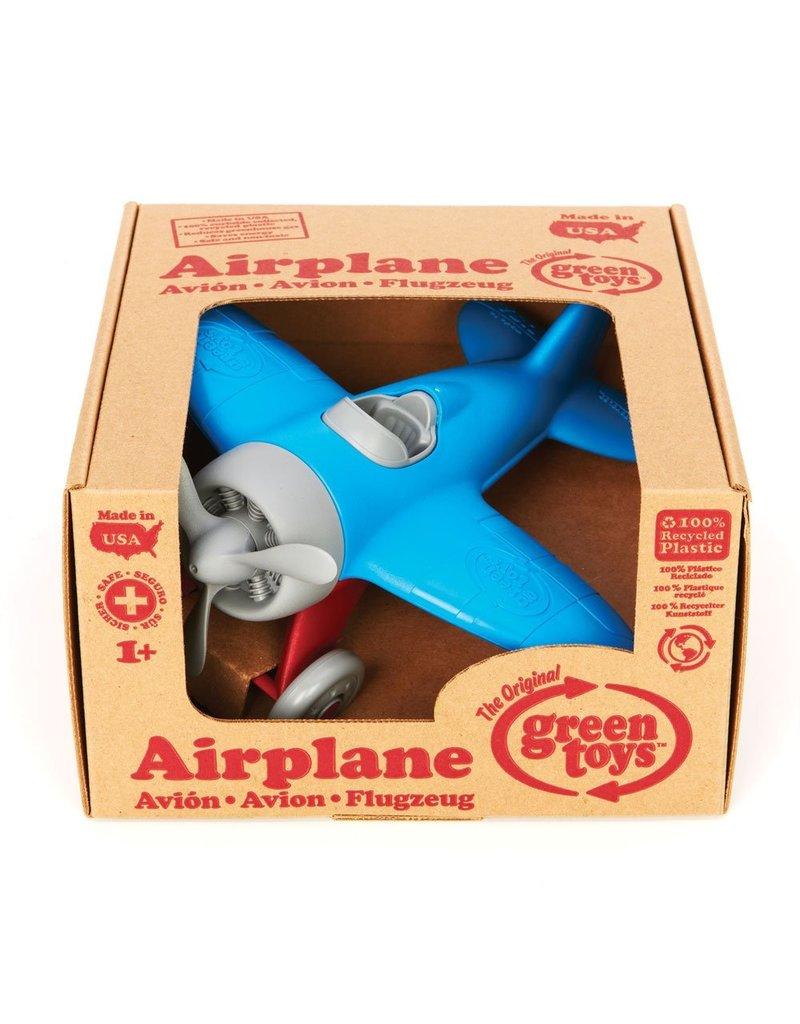 Green Toys Airplane - BPA Free, Phthalates Free Play Toy
