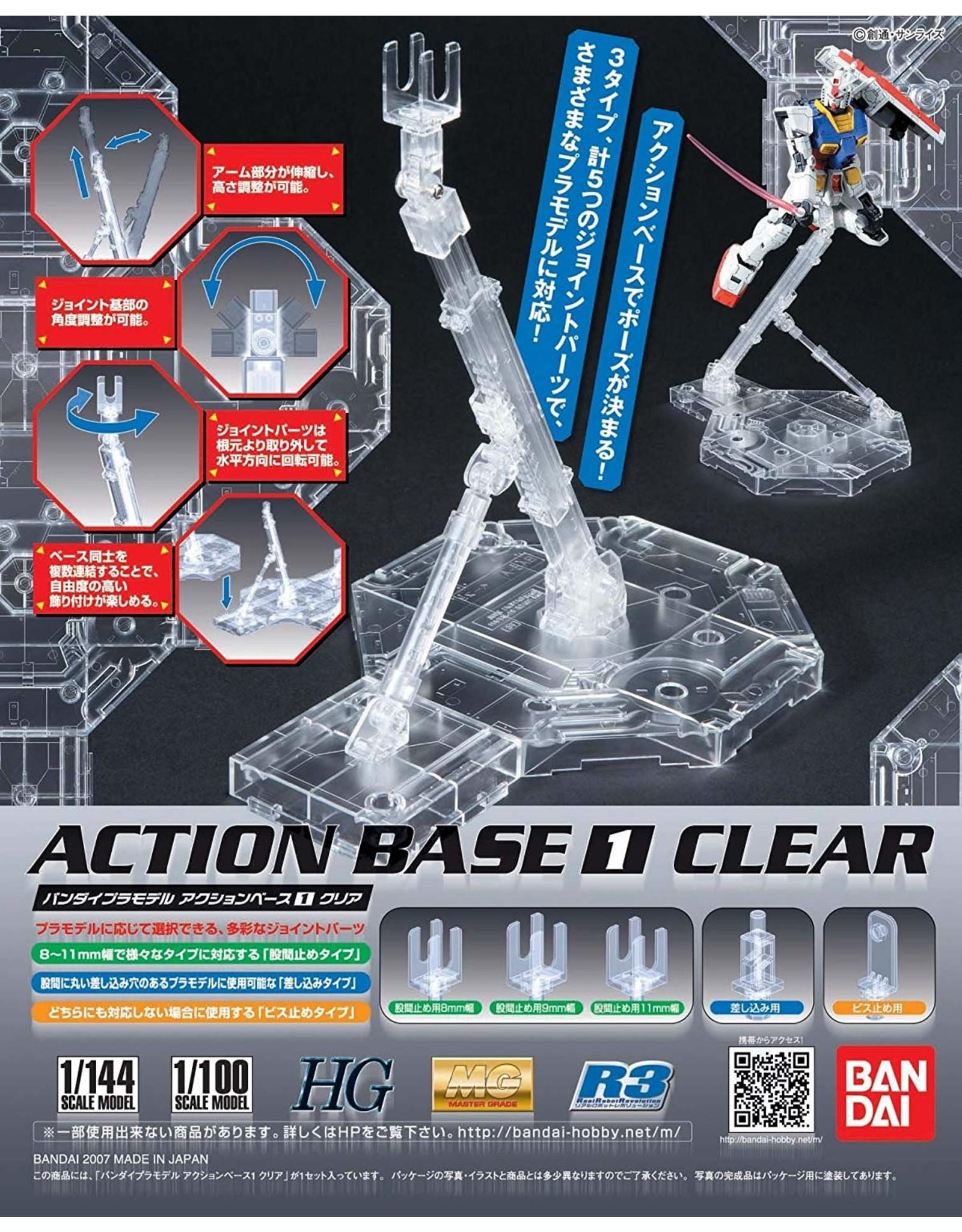 Bandai Action Base 1 - Clear