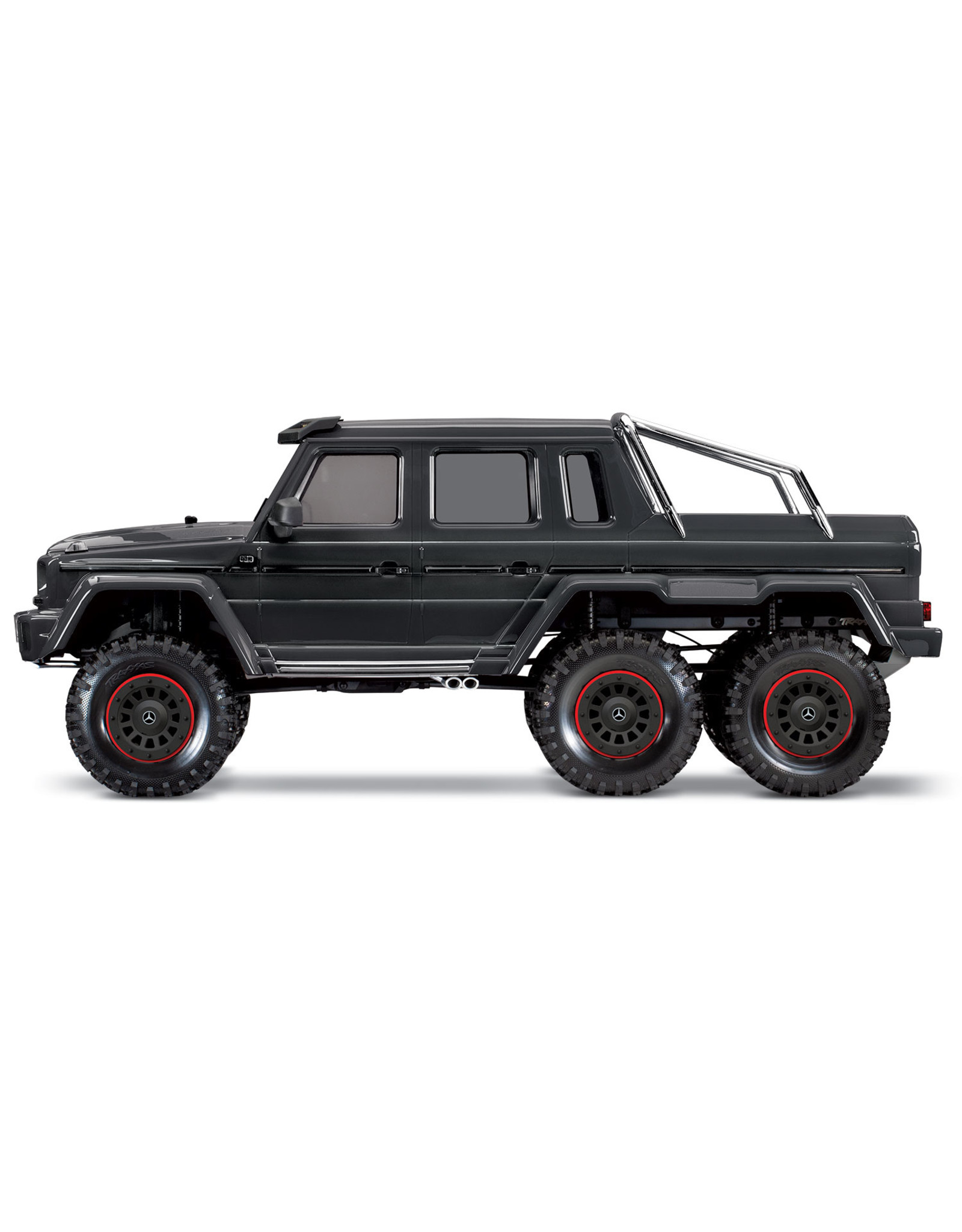 Traxxas 1/10 Mercedes-Benz G 63 AMG 6x6 RTR Scale and Trail Crawler - Silver