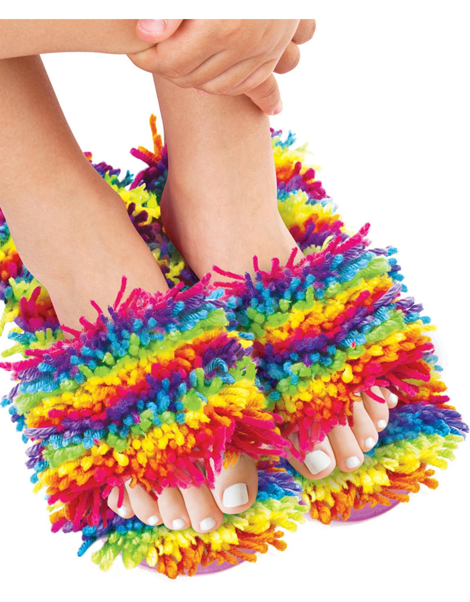 Fashion Angels Enterprises Shaggy Slippers Latch Hook Kit