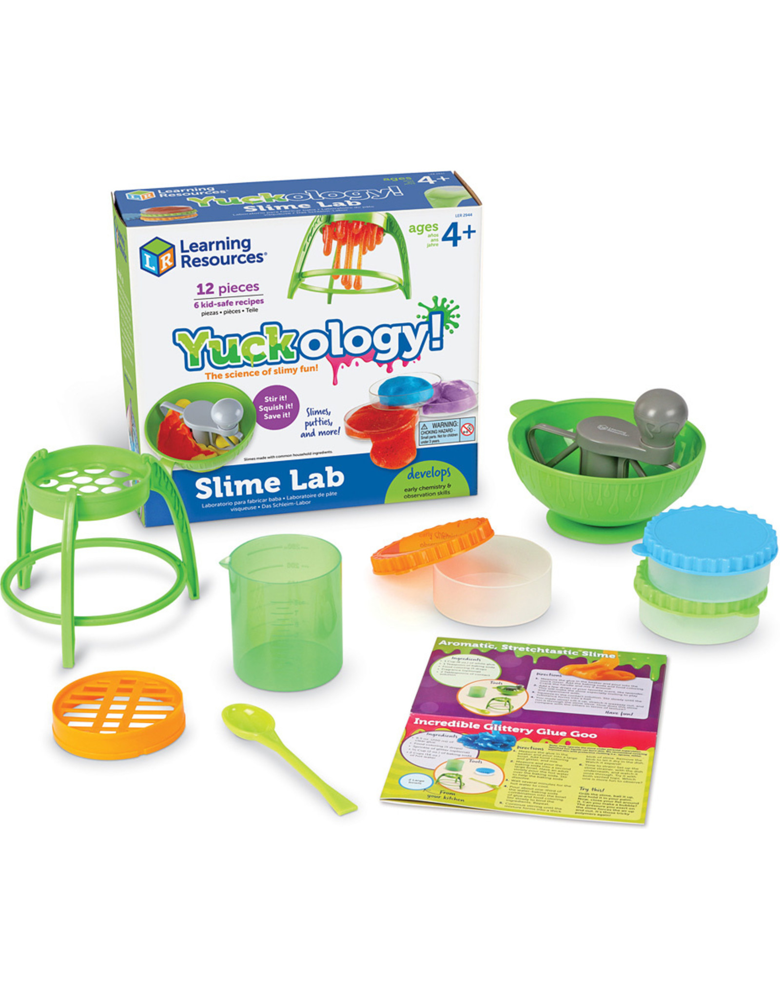 Learning Resources Yuckology! Slime Lab
