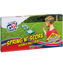 Toysmith Spring N' Score Bounce Ball Game