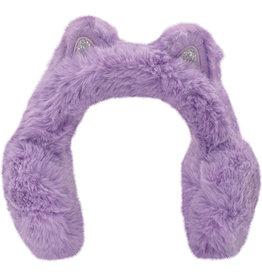 Iscream Ear Muffs - Purple Leopard Cat