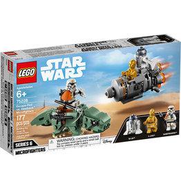Lego Escape Pod vs Dewback