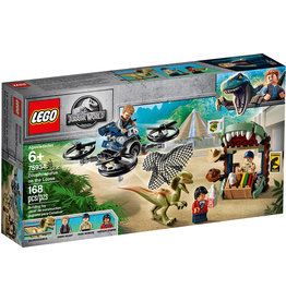 Lego Dilophosaurus on the Loose