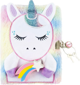 Three Cheers For Girls Unicorn Squishy Journal