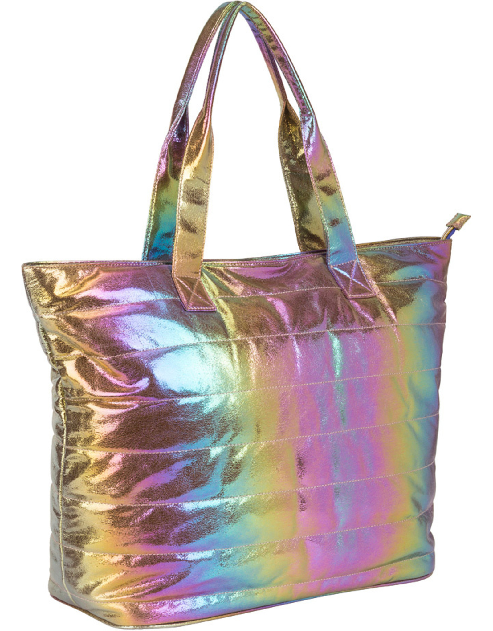 Three Cheers For Girls Cosmic Rainbow Tote