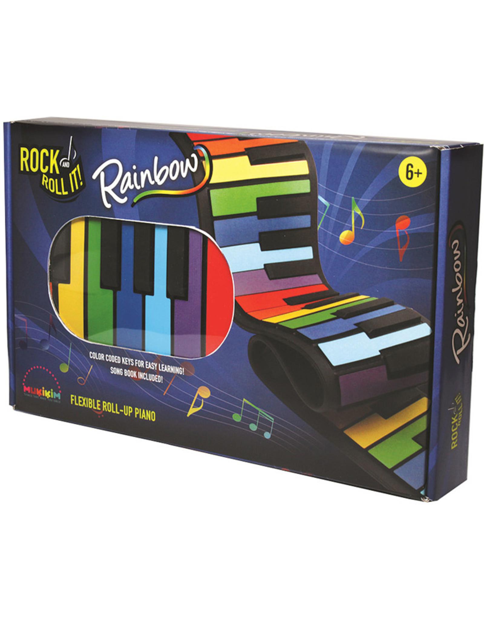 Mukikim Rock & Roll It! Rainbow Piano