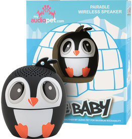 My Audio Life Bluetooth Speaker - Ice Ice Baby Penguin