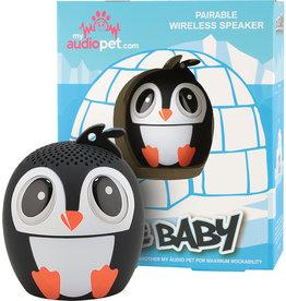 My Audio Life Ice Ice Baby Penguin Portable Bluetooth Speaker