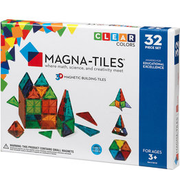 Magna-Tiles Magna-Tiles 32-Piece Set - Clear