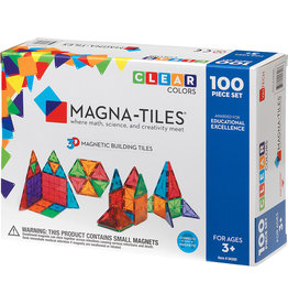 Magna-Tiles 100-Piece Set - Clear