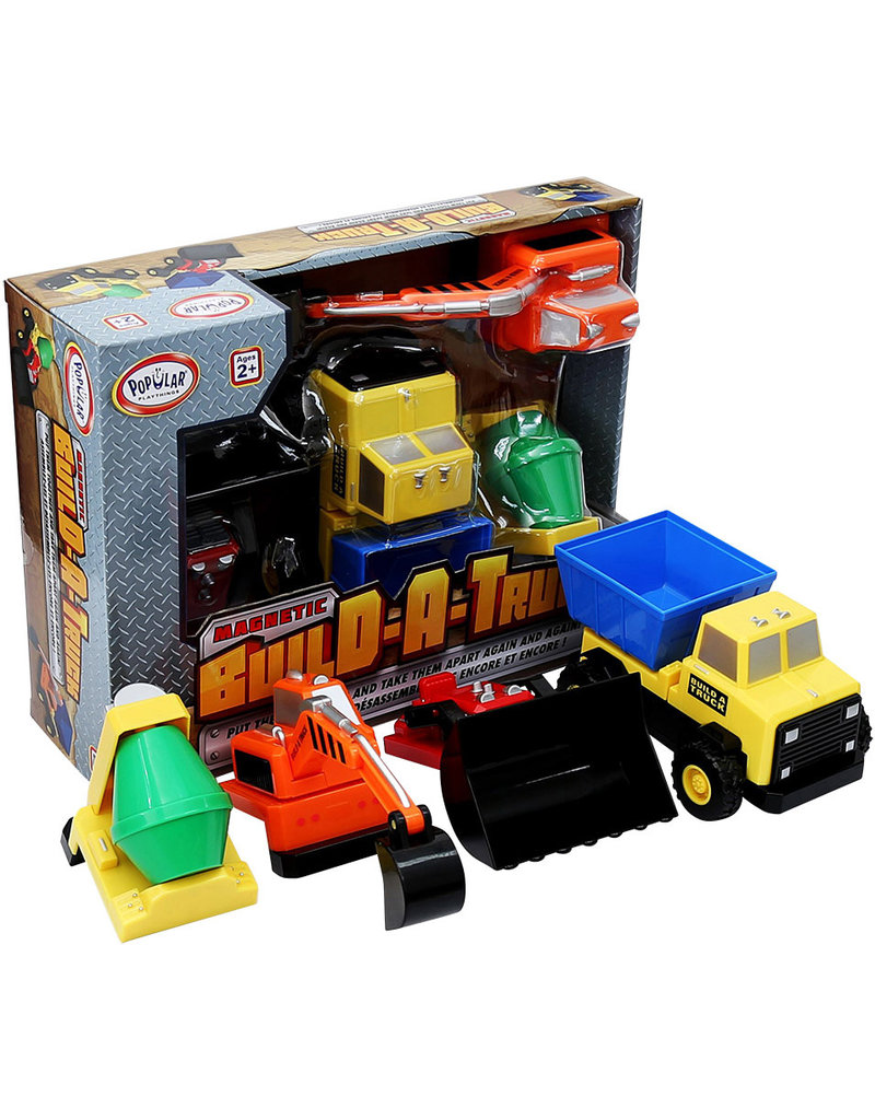 Popular Playthings Magnetic Build-A-Truck - Construction