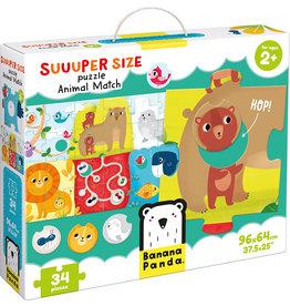 Banana Panda Suuuper Size Puzzle: Animal Match