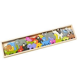 Begin Again Animal Parade A-Z Puzzle