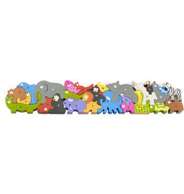 Begin Again Animal Parade A-Z Jumbo Puzzle
