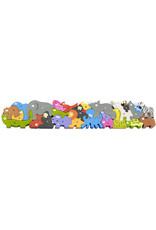 Begin Again Animal Parade A-Z Jumbo Puzzle