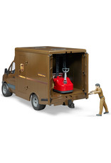 Bruder Toys MB Sprinter UPS w/Driver