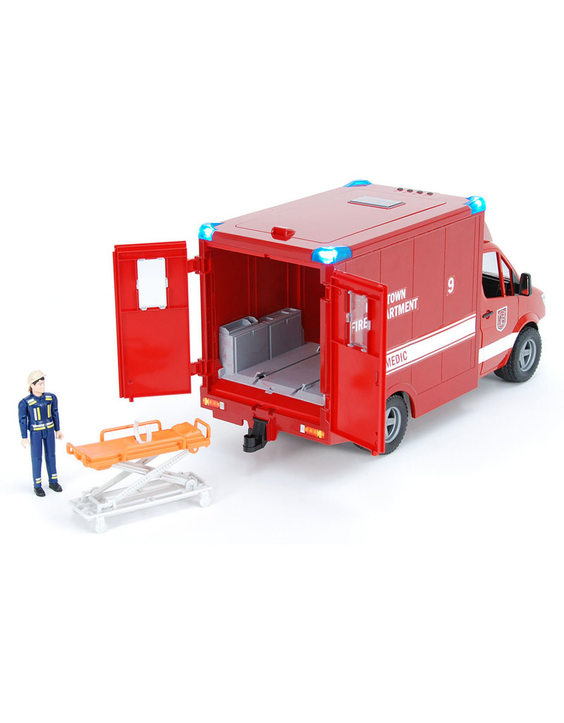 Bruder Toys MB Sprinter Paramedic with Driver