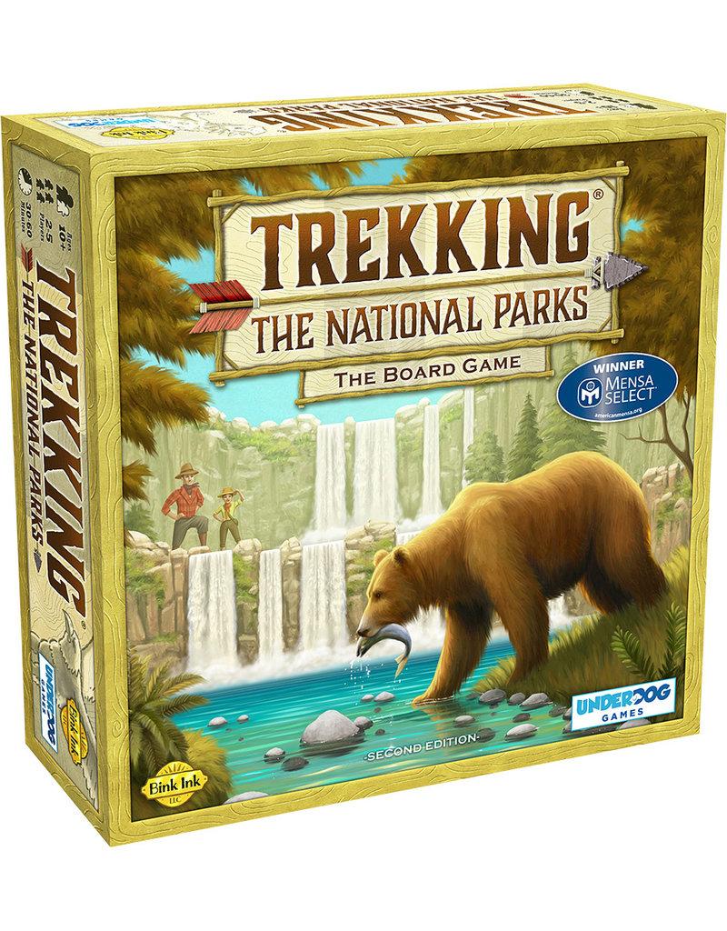 Underdog Games Trekking: The National Parks Board Game