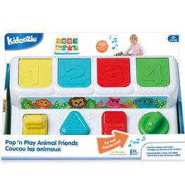 Epoch Pop 'n Play Animal Friends