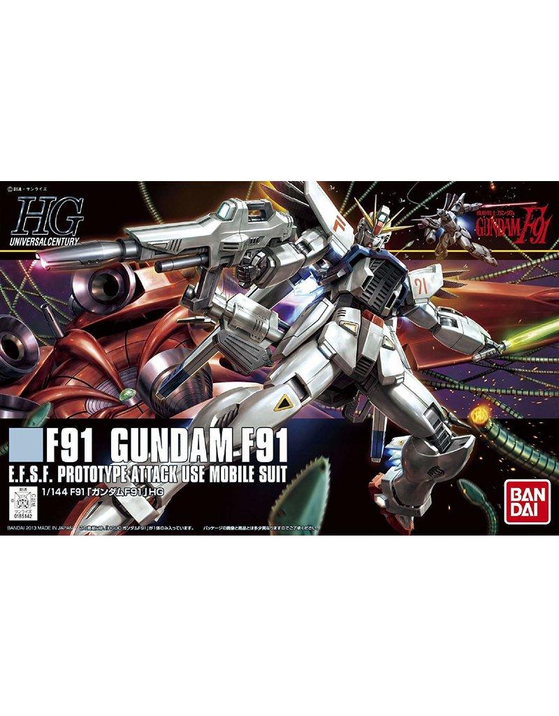 Bandai #167 Gundam F91
