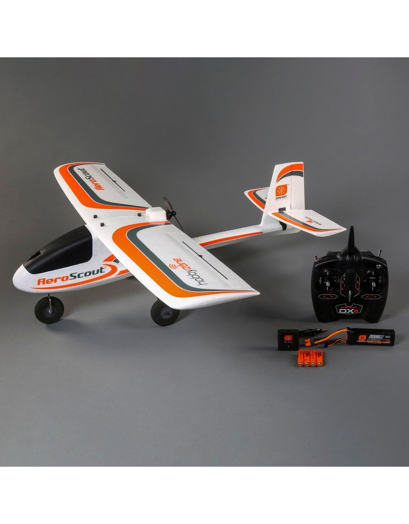 HobbyZone 3800 - AeroScout S 1.1m RTF RC Airplane