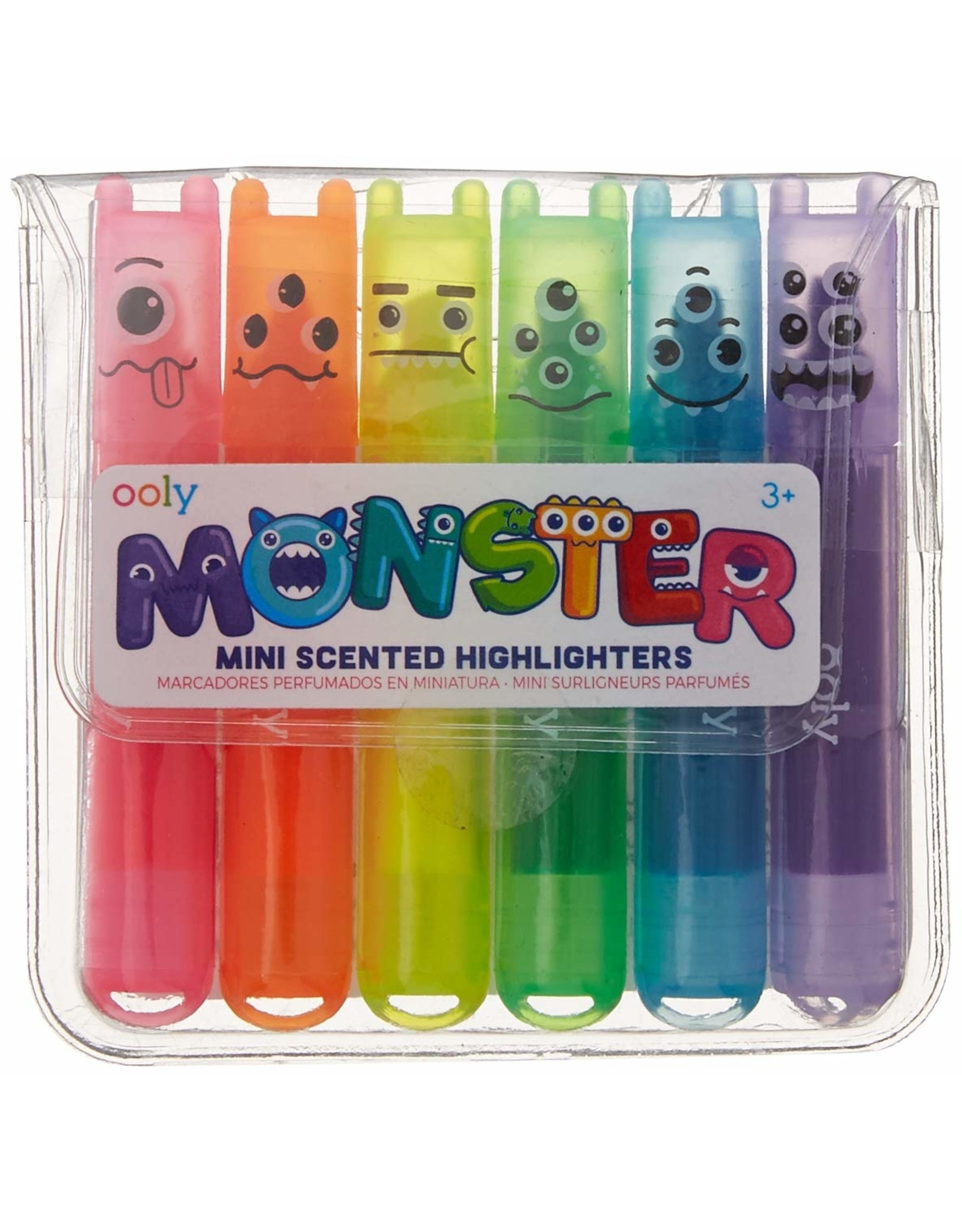 Ooly Mini Monster Scented Markers - Highlighters