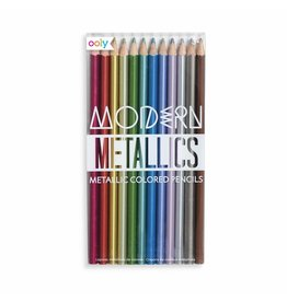 Ooly Modern Metallics Colored Pencil Set
