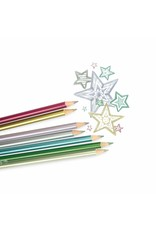 Ooly Modern Metallics Colored Pencil Set