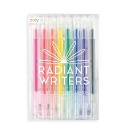 Ooly Radiant Writers Glitter Gel Pens