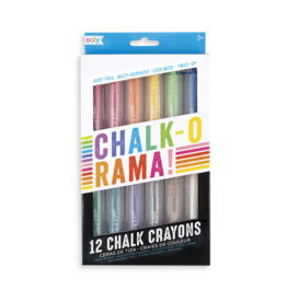 Ooly Chalk-O-Rama Dustless Chalk Crayons